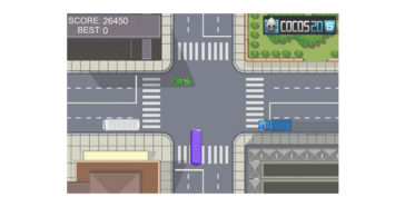 Traffic Control game in Cocos2D-HTML5