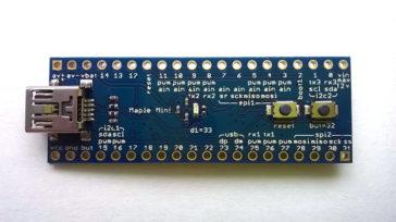 Improved Maple bootloader for STM32