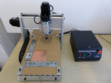 PCB prototype milling using CNC 3020