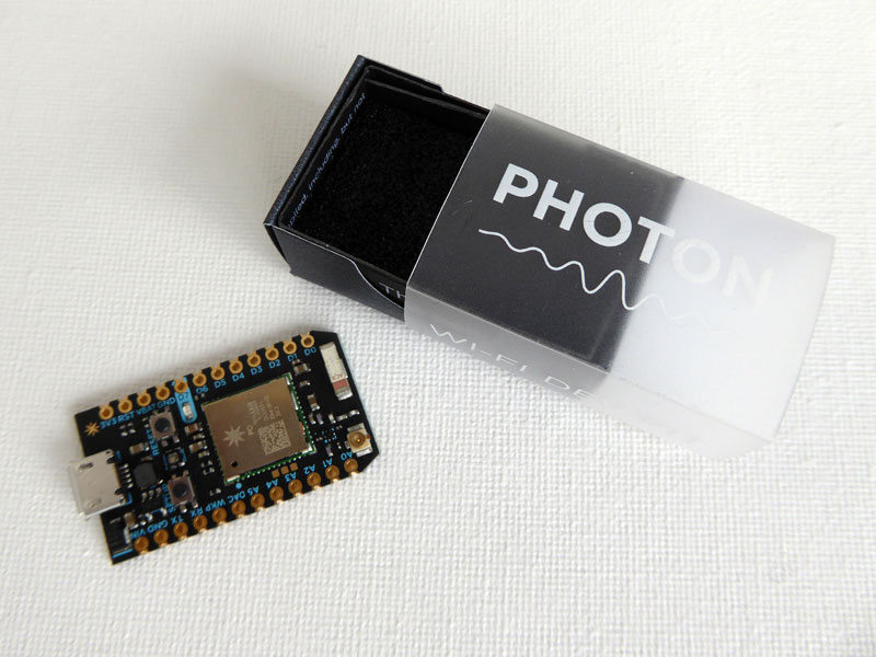 Particle (aka Spark) Photon, first impressions
