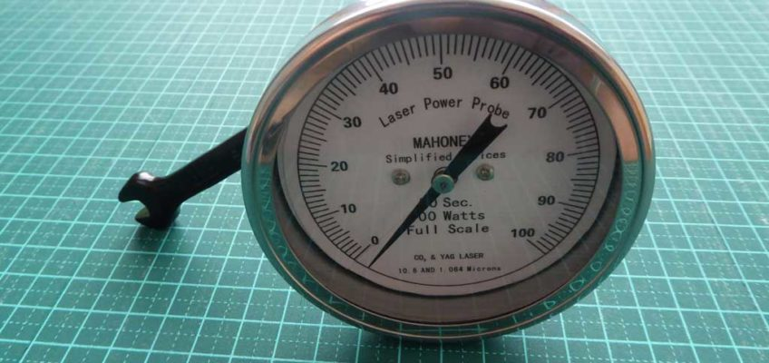 Mahoney CO2 laser power meter