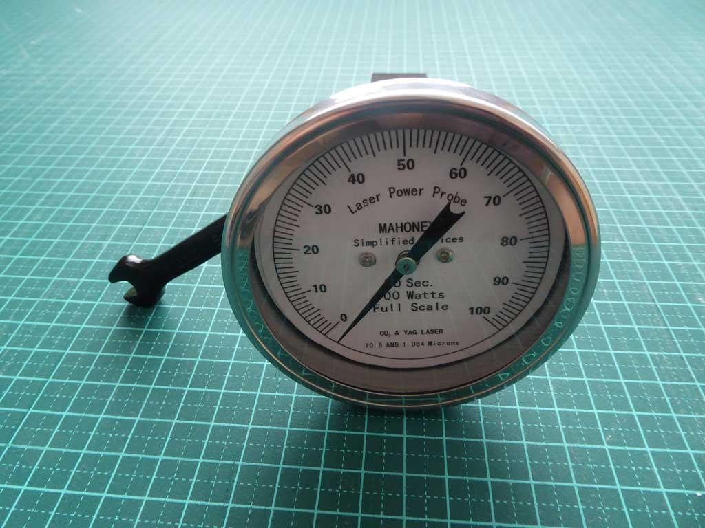 Laser Power Meter : Mahoney co laser power meter roger clark