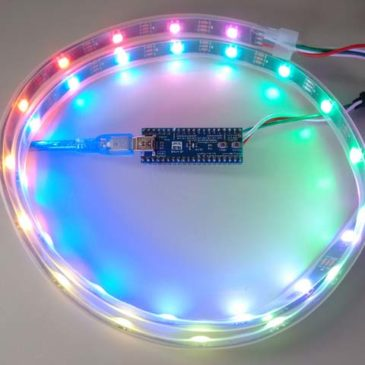 Arduino STM32 NeoPixels (WS2812B) using SPI DMA