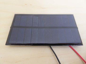 "Cheap ""5V 1W"" solar panel"