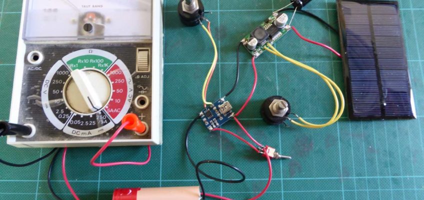 LiPo battery charging from a 1W 5V solar panel