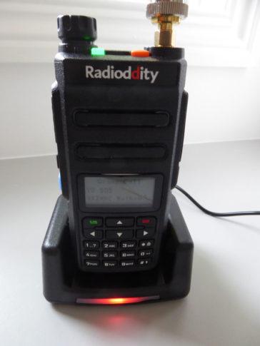 Radioddity GD-77 DMR transciever – initial observations