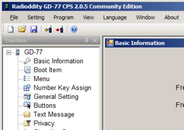 Re-engineered Radioddity GD-77 CPS