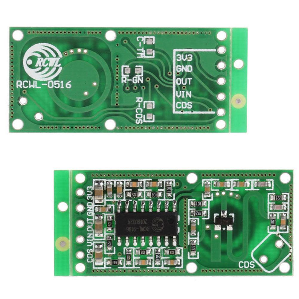 Investigating A Rcwl 9196 0516 Radar Motion Detector Module Arduino Night Security Alarm With Pir Sensor 18 Jun 2017